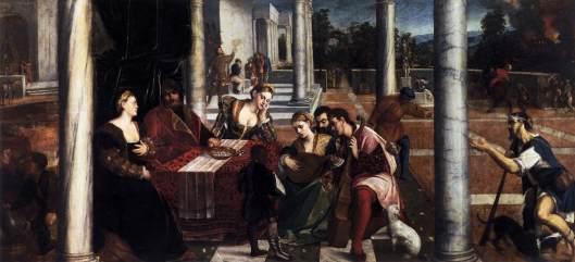 Resultado de imagem para Lazzaro e el ricco Epulone