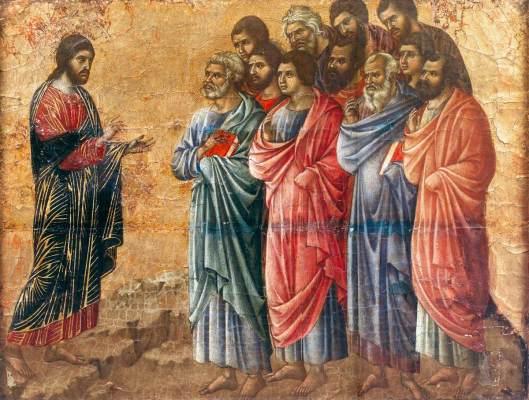 Cristo e os apóstolos - Ducio
