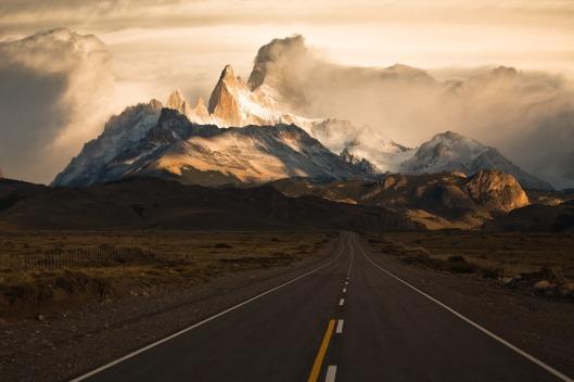estrada na montanha
