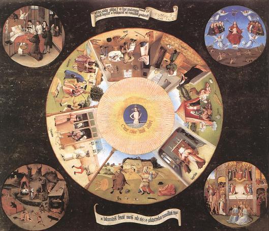 Bosch, Hieronymus - The seven deadly sins
