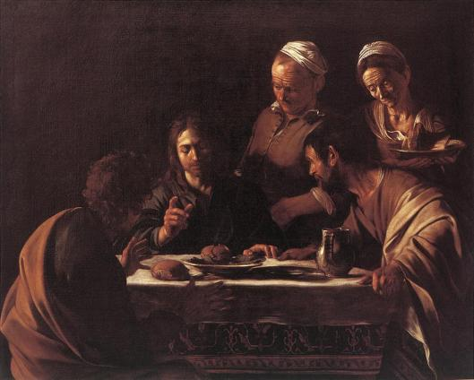 Caravaggio - Supper At Emmaus - Milan