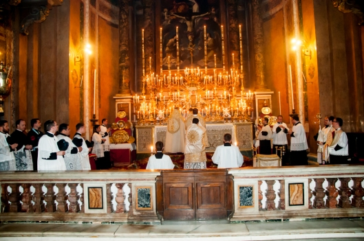 Missa com Cardeal Burke