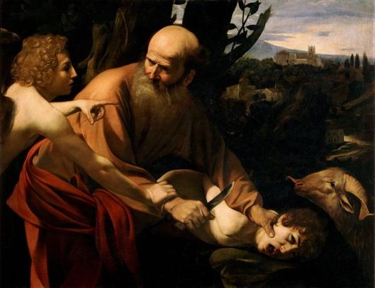 sacrificio de isaac caravaggio