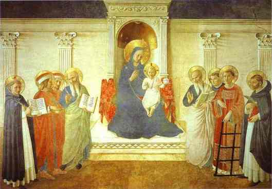 Fra Angelico - Madonna delle ombre (Madonna of the Shadows)