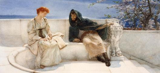 Sir-Lawrence-Alma-tadema-A-Declaration