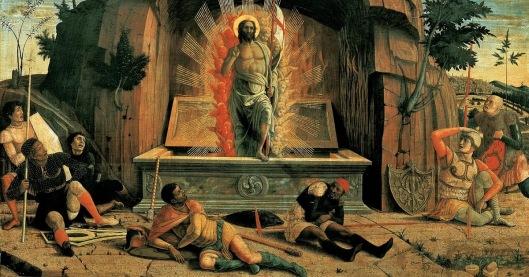 Mantegna_The Resurrection (1457-1459)