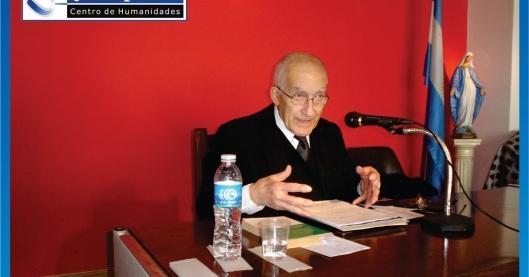 Alberto Caturelli en el Centro Pieper